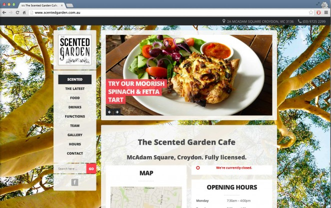 The Scented Garden Cafe